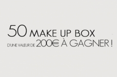 50 make-up box à gagner