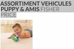 Assortiment vehicules Puppy et Amis Fisher Price à tester