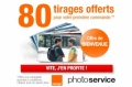 Photo Orange : 80 tirages gratuits pour la 1�re commande