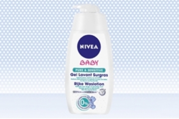 Gel Lavant surgras Pure&Sensitive NIVEA Baby