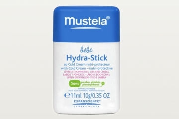 Hydra-Stick au Cold Cream de Mustela
