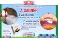 Week?ends Cabanes en l'air & en Yourtes � gagner