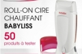 Roll-on Cire chauffant BaByliss � tester