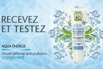 Sérum défense anti-pollution Oxygénant de SO'BiO étic®