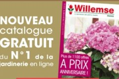 Catalogues gratuits willemse jardin for Jardin willemse